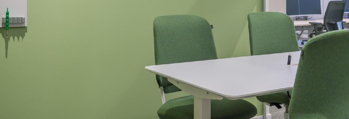 Siemens Färgstarka sittplatser